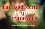 False accusation
