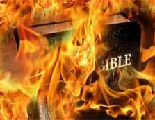 bible burn